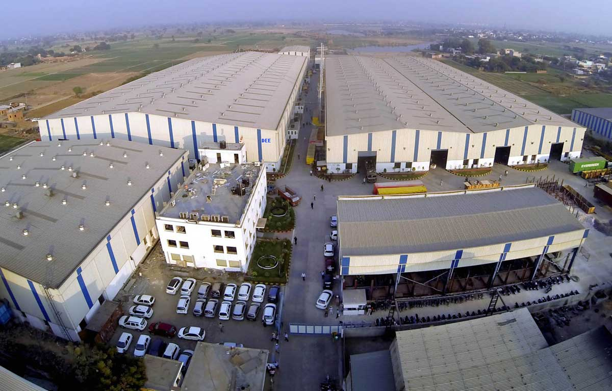 Our plants are spread across 200 Thousand Square Meters